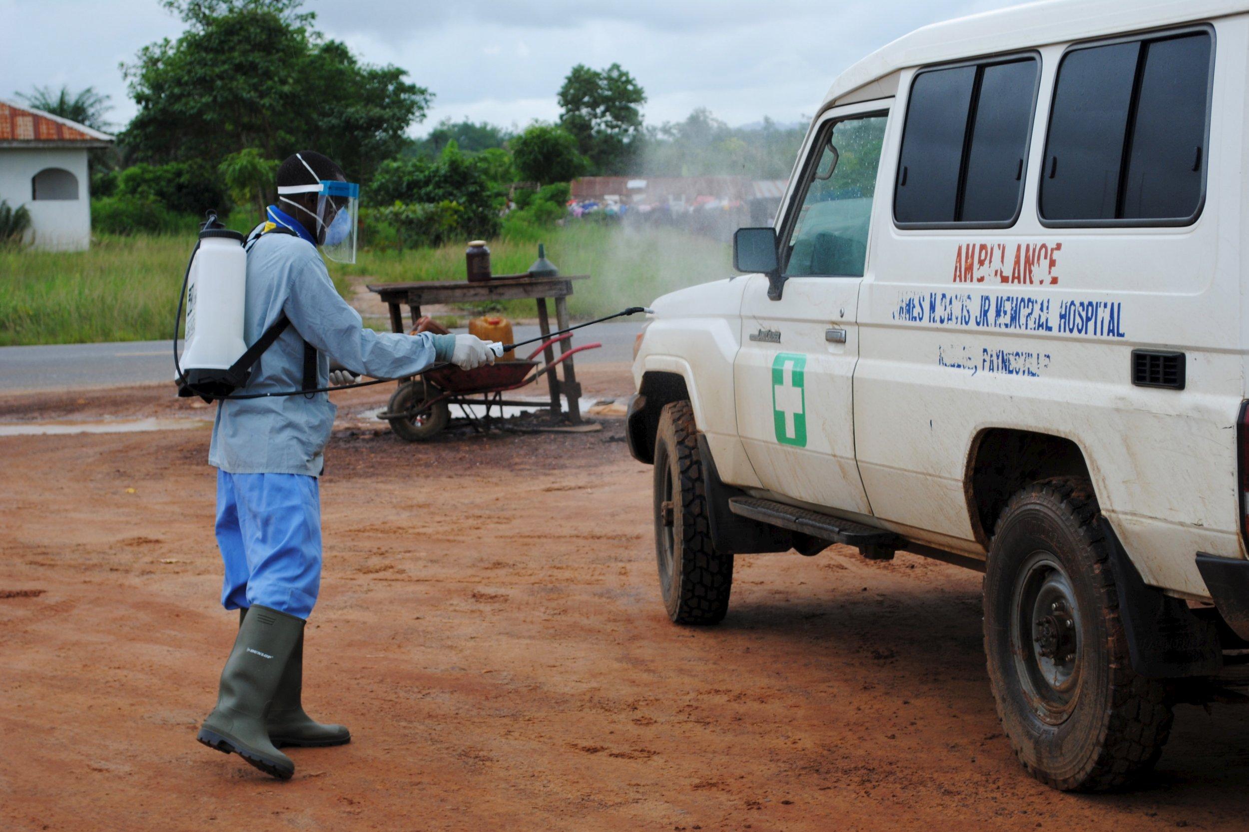 Liberia health worker