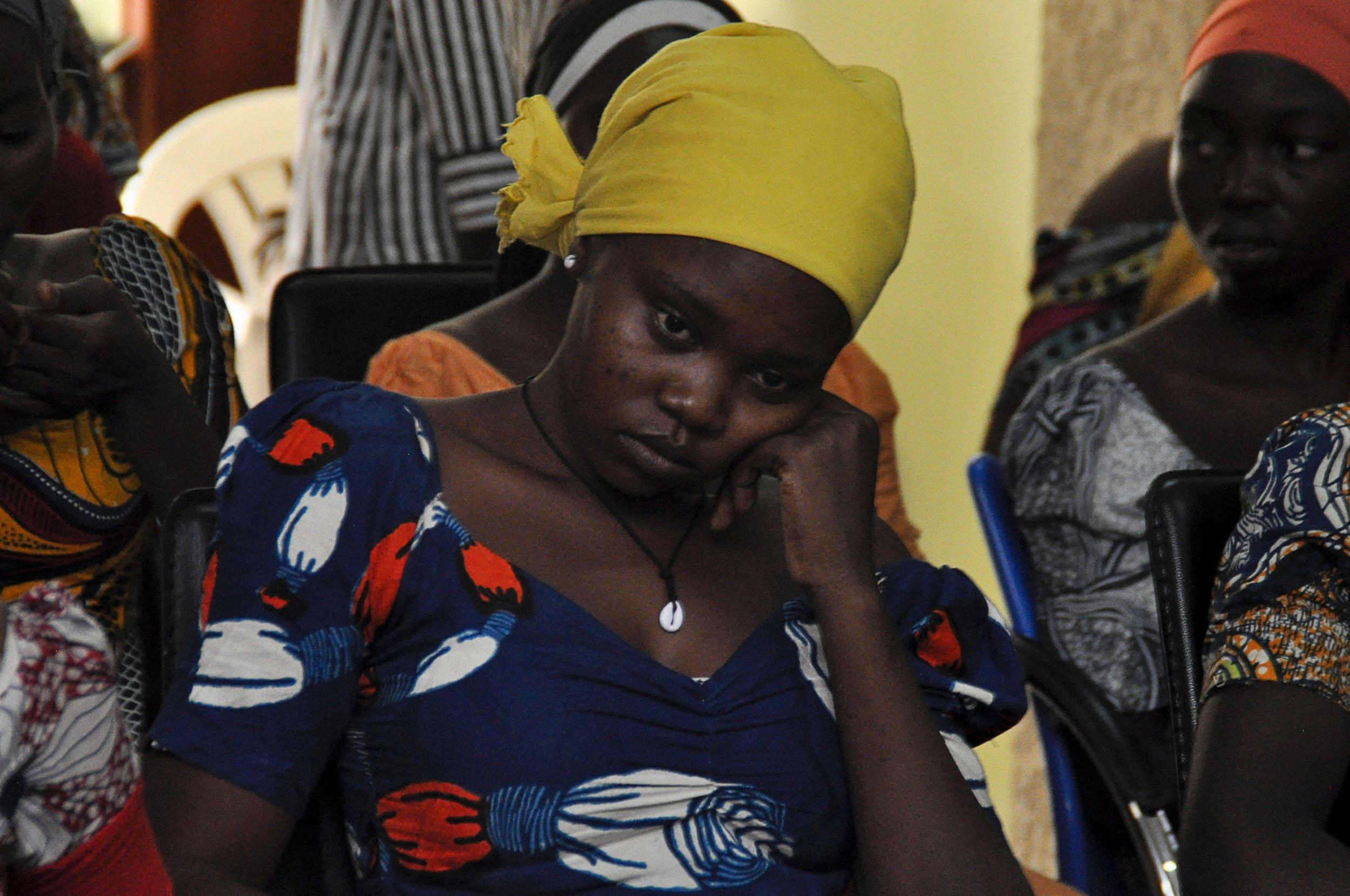 Chibok girl in Abuja