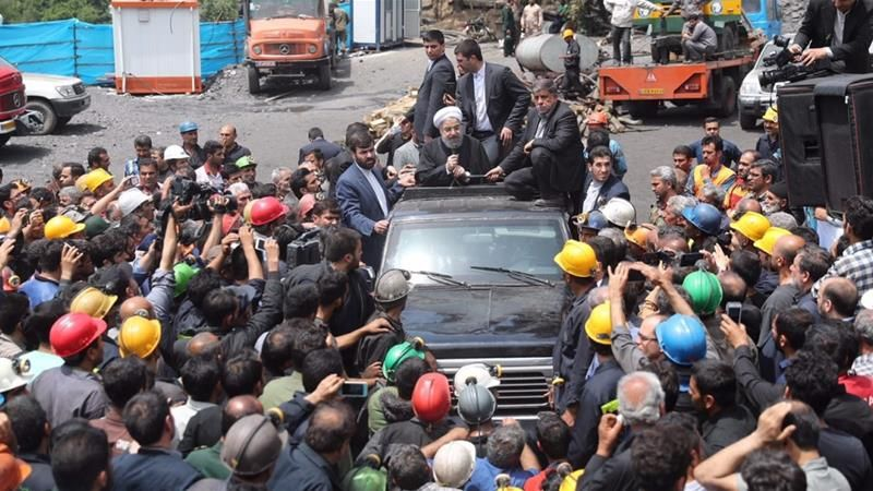 Iranian President S Car Attacked