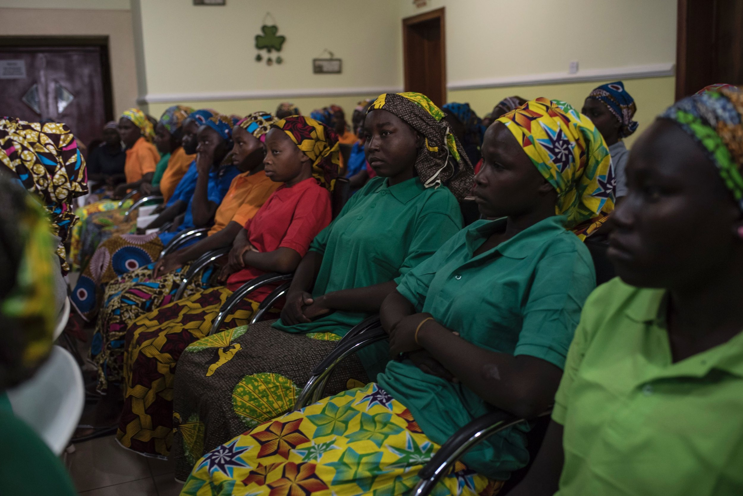 Chibok girls released