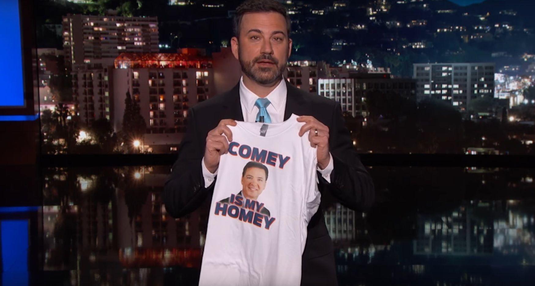 Jimmy Kimmel on Comey