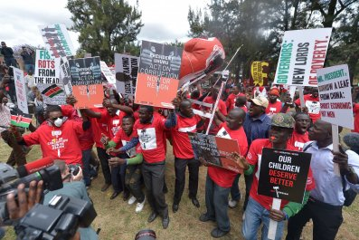 Kenya anticorruption demo