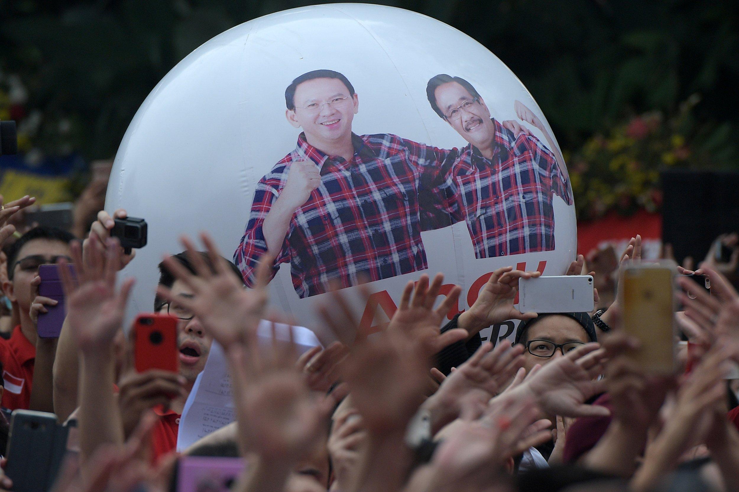Protests Jakarta