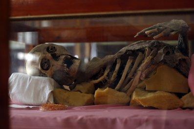 Yemeni mummy