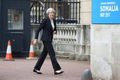 Somalia conference Theresa May
