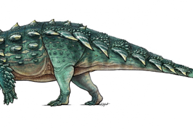 Newly discovered dinosaur resembles Zuul from 'Ghosbusters'