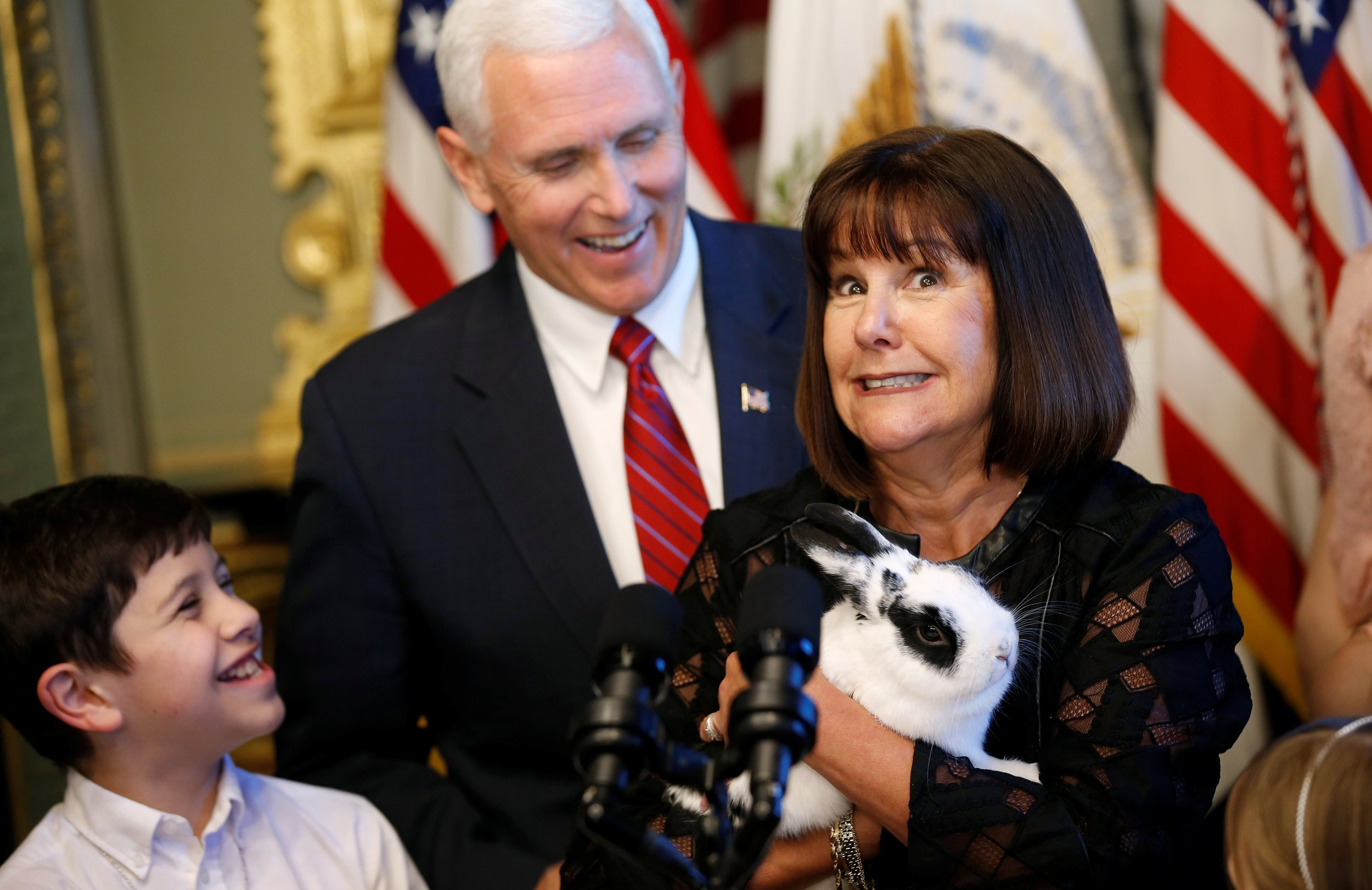 After Mike Pence Hits Kid In Face Boy Demands Apology And