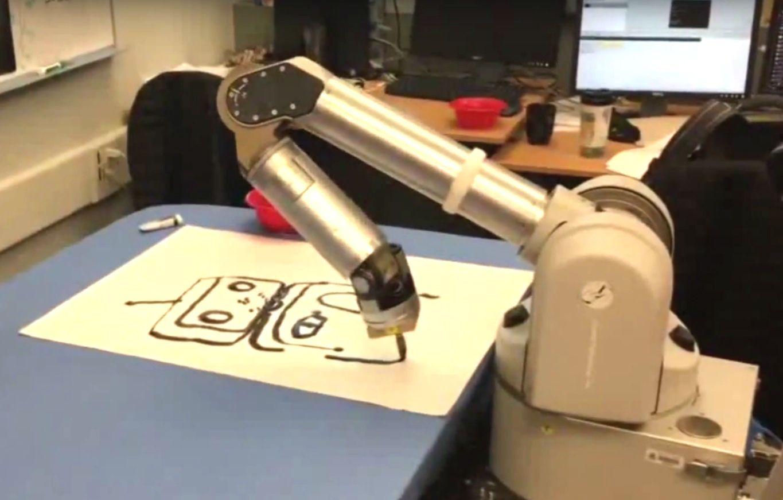 robot painter art competition