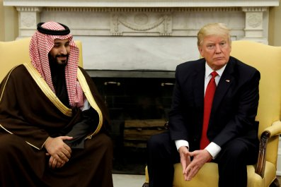 Trump, Saudi crown prince