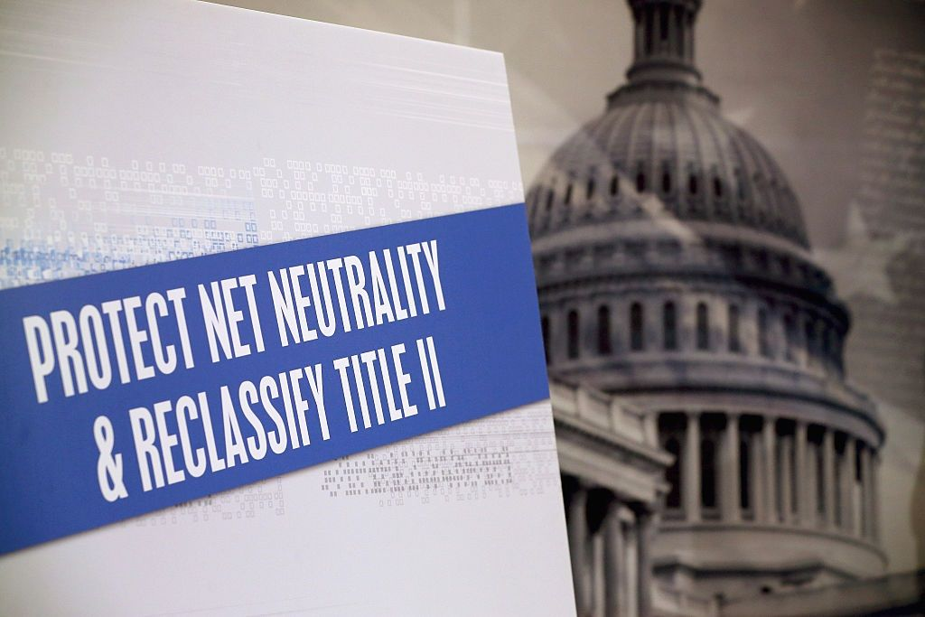 net neutrality fcc website attack protest