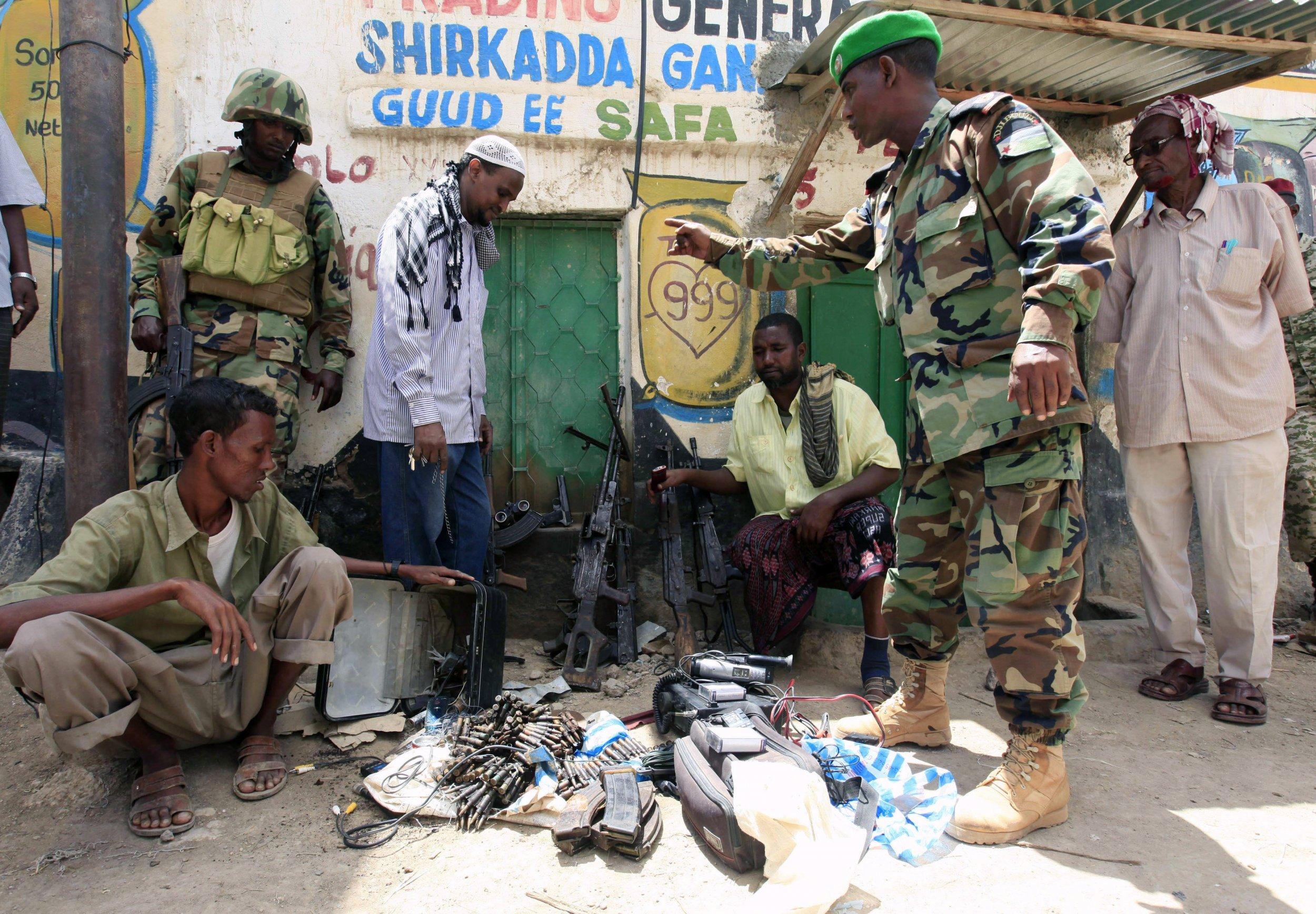 Somalia weapons