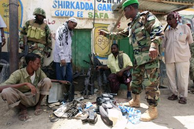 Somalia weapons