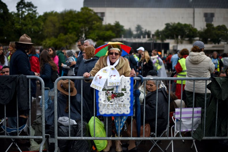 Pope Francis Visits Fatima