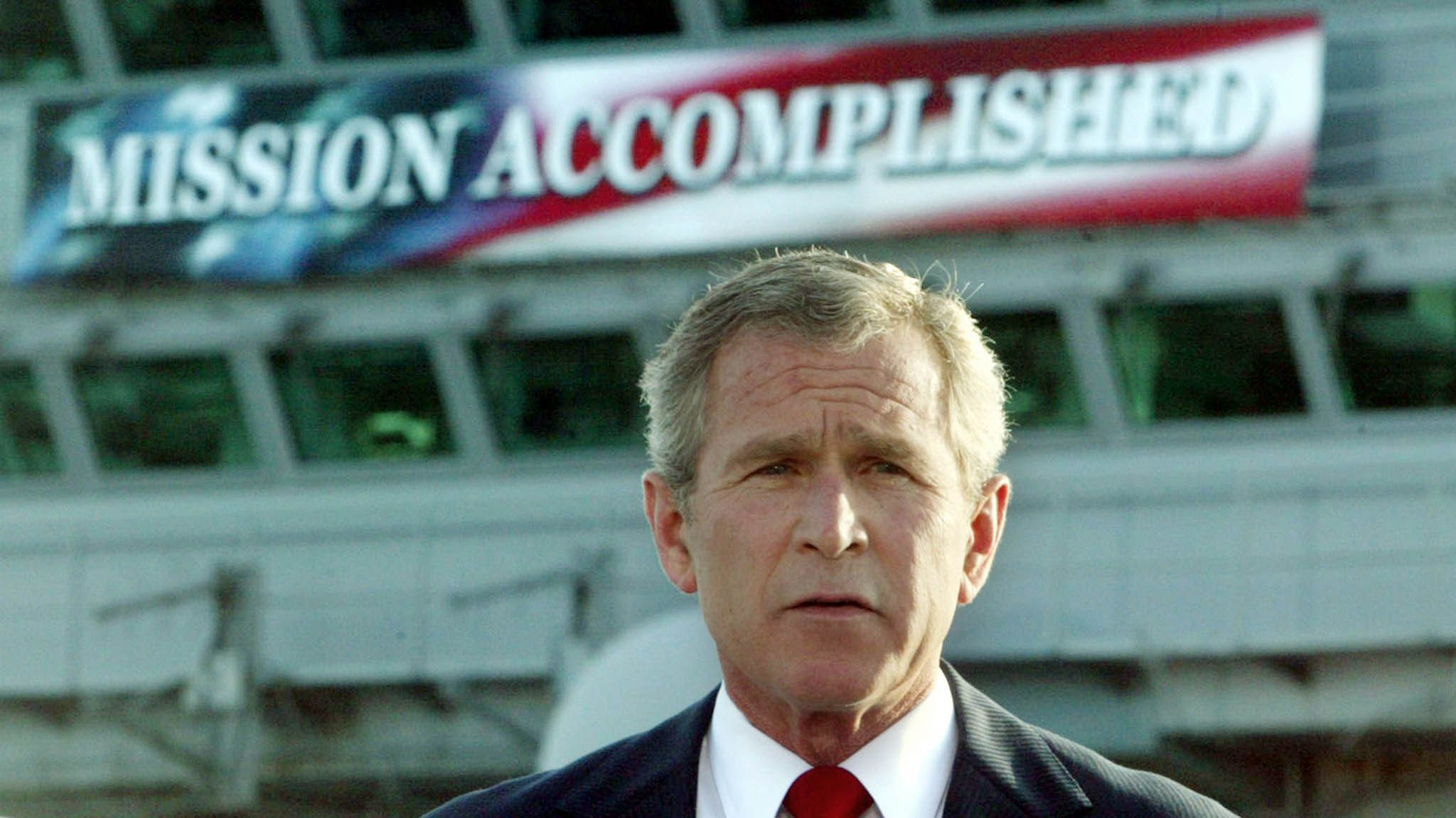 Why Were In Iraq And Why Bush And >> U S Wars In The Middle East Were Not Supposed To Bring Democracy