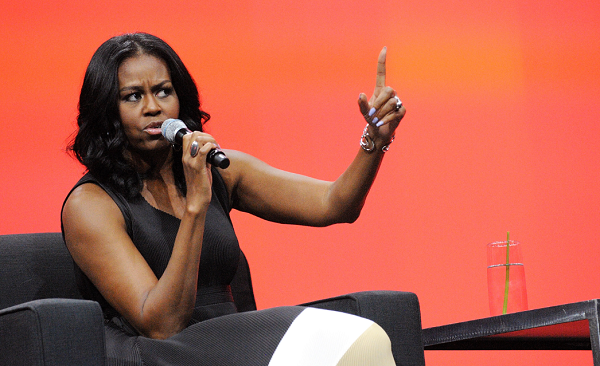 Michelle Obama responds to Trump's decision to axe the healthy initiative she set in place while President Barack Obama was in office