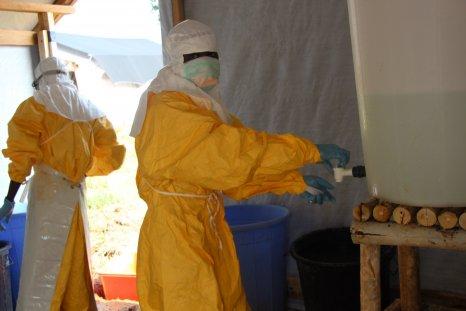 Ebola nurses Congo