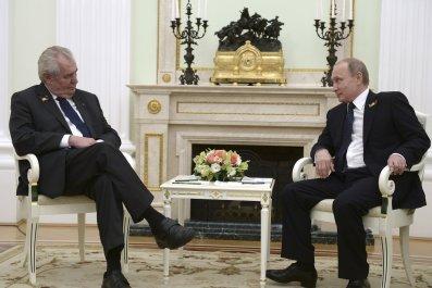 Zeman and Putin