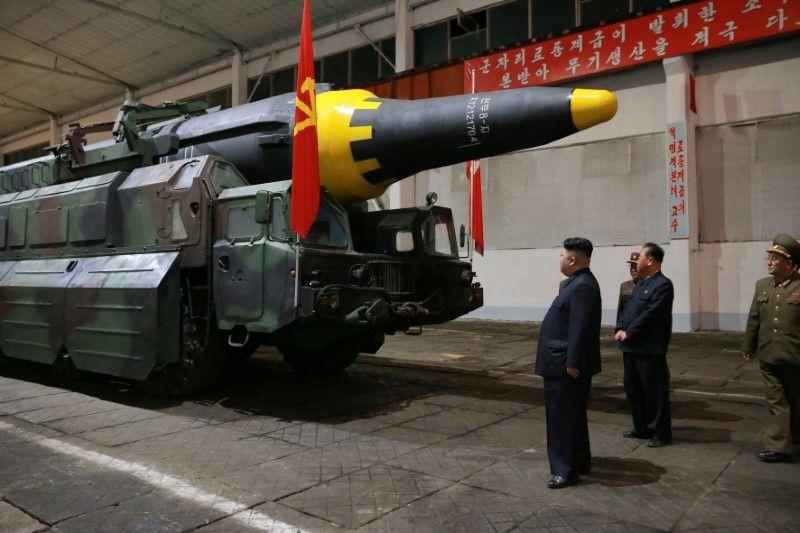 Kim Jong Un, North Korea, missile test