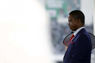 Edgar Lungu swearing in