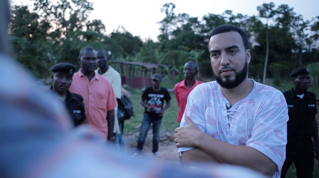 French Montana in Uganda