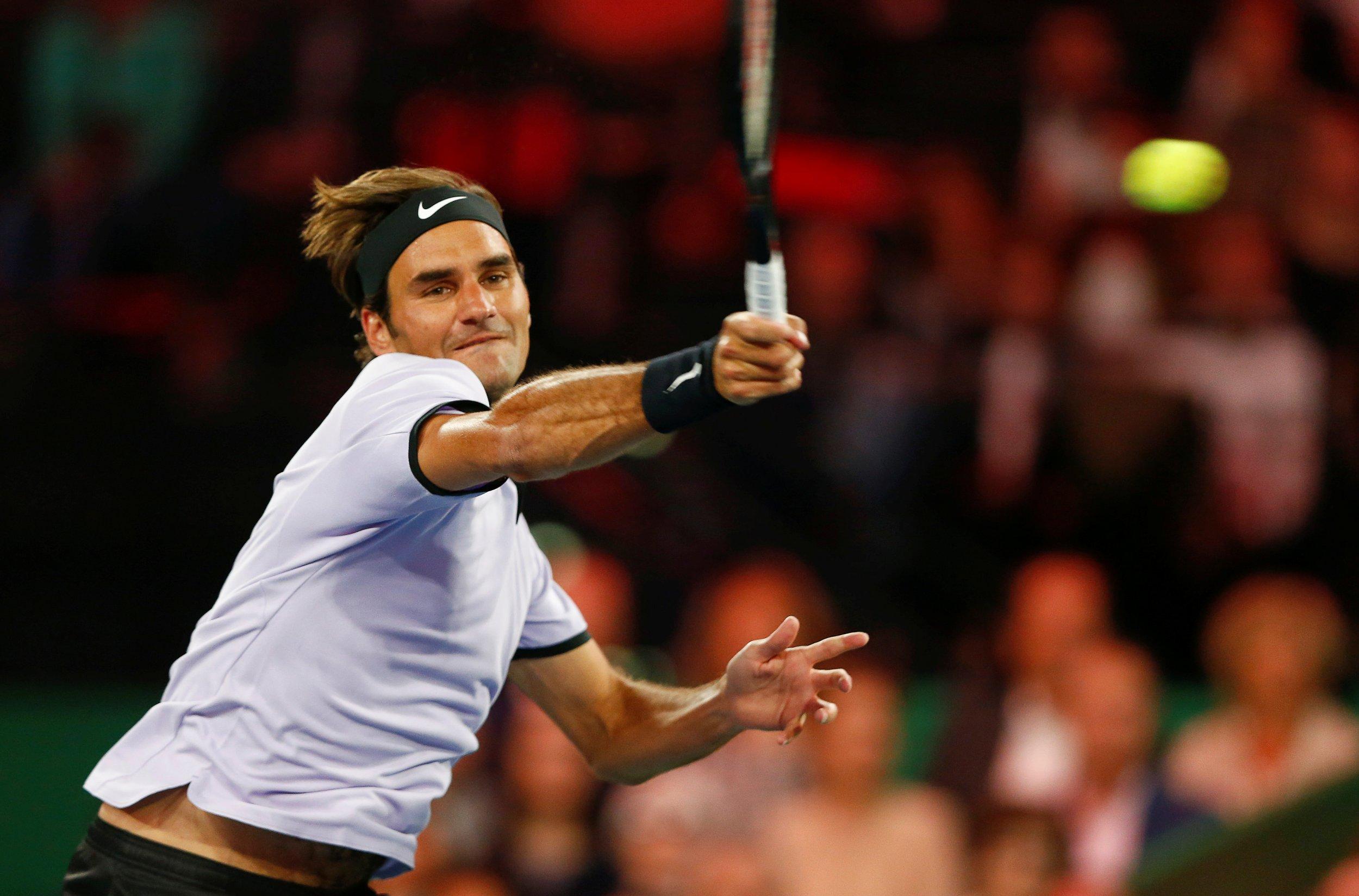 18-times Grand Slam winner Roger Federer.