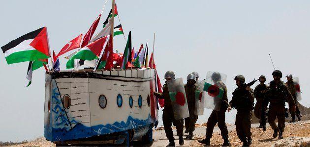 gaza--blockade-protests-wide