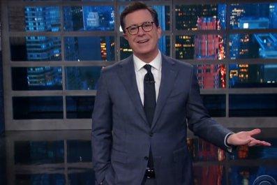 Stephen Colbert on Spicer firing rumors