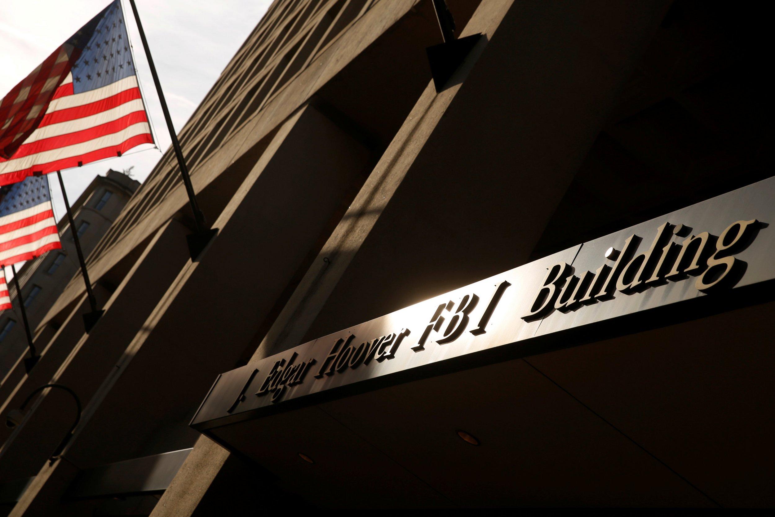 Federal Bureau of Investigation building in Washington