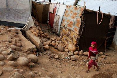 Rohingya girl