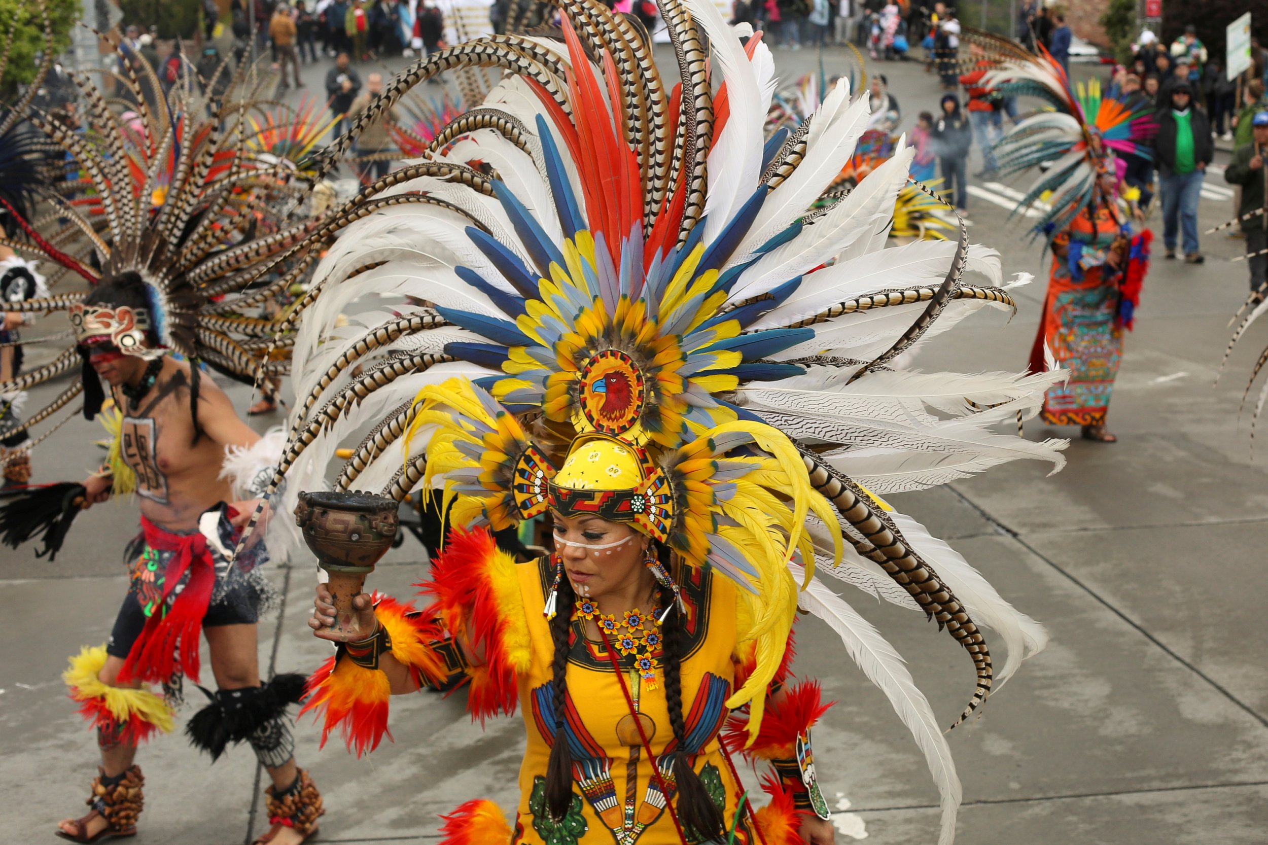 Traditional Aztec dance