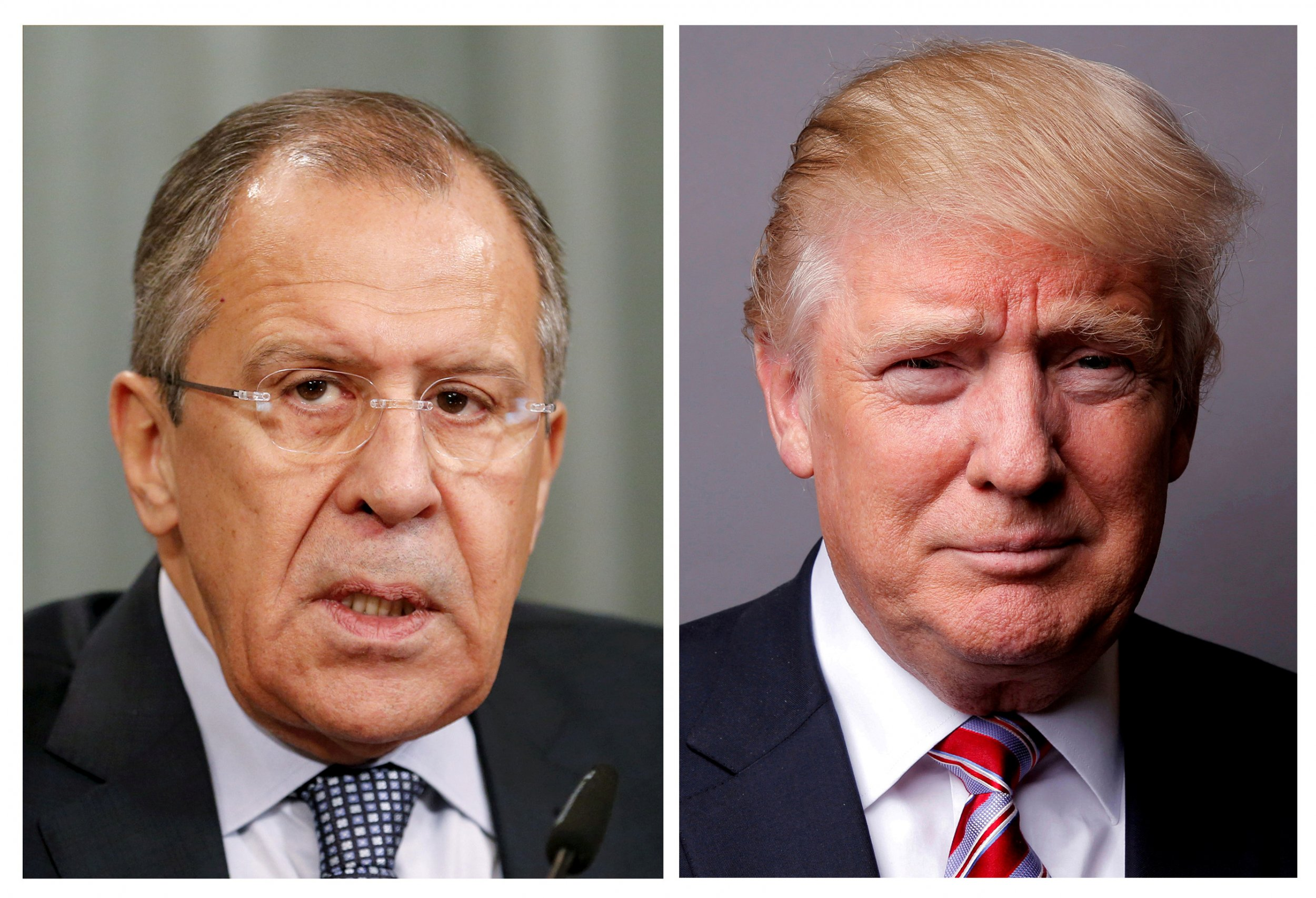 Sergei Lavrov Donald Trump