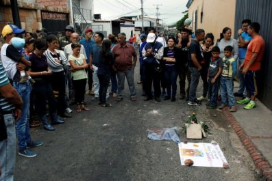 Venezuela mourning dead teenager