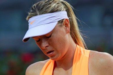 Former French Open champion Maria Sharapova.
