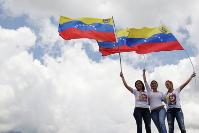 Venezuelan female opposition leaders