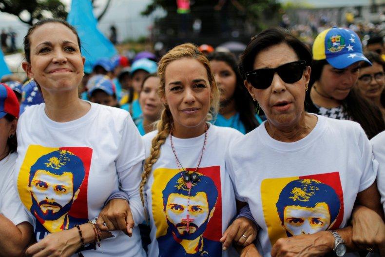 Venezuelan female opposition leaders