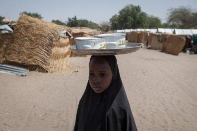 Borno State IDP camp