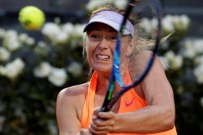Tennis star Maria Sharapova.