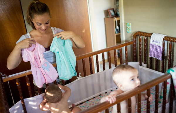 Women in their early 30s are having babies more than women in their 20s.