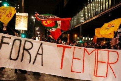 Brazil against Temer