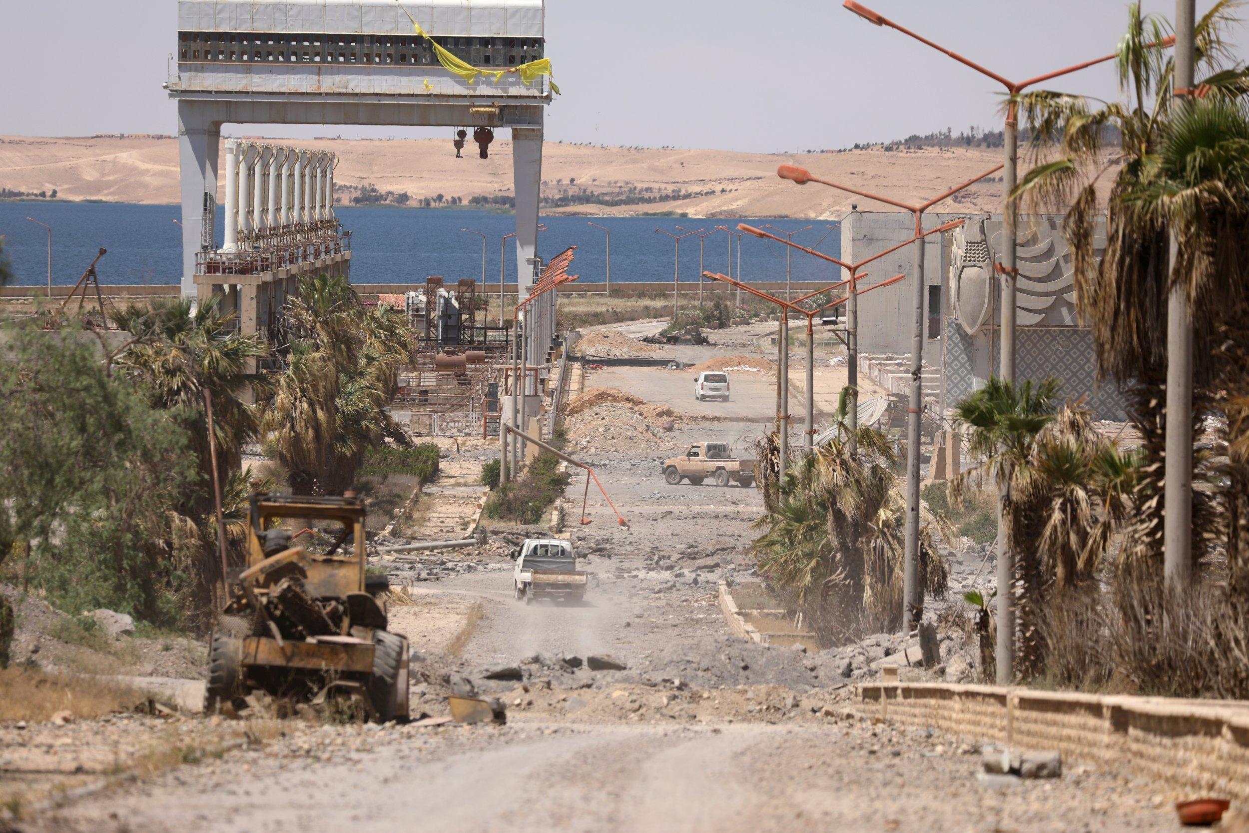 The advance on Raqqa