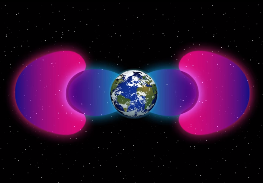 Artificial Field Protecting Earth Detected By NASA Space Probes