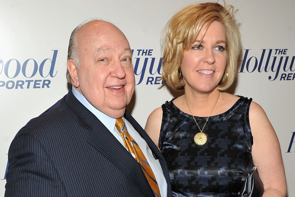 Roger Ailes' wife, Elizabeth Ailes, confirms the former Fox New executive's death