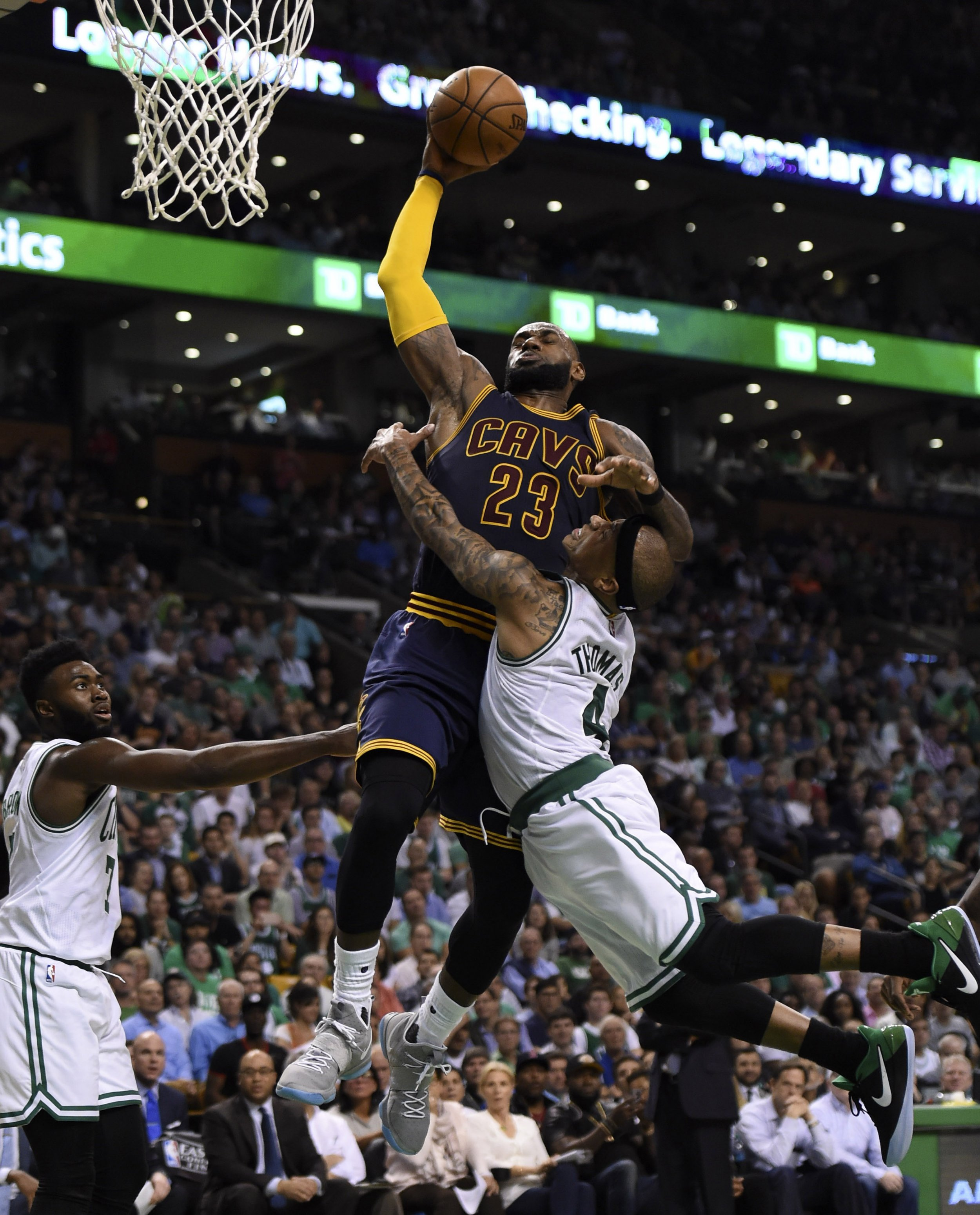 ca9441c1007 The 2017 Eastern Conference finals summarized in one photo. USA TODAY SPORTS