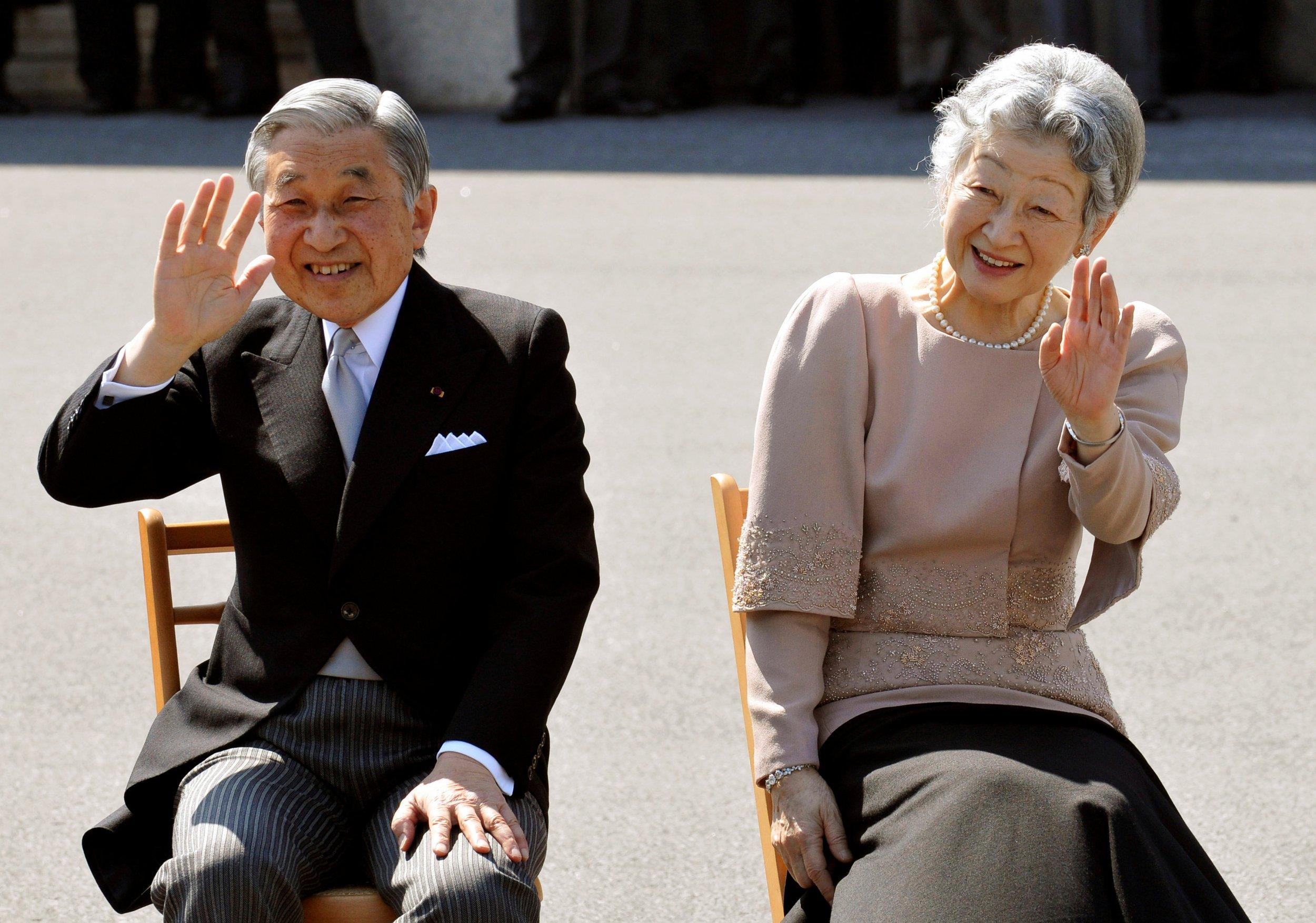Japan Emperor and Empress
