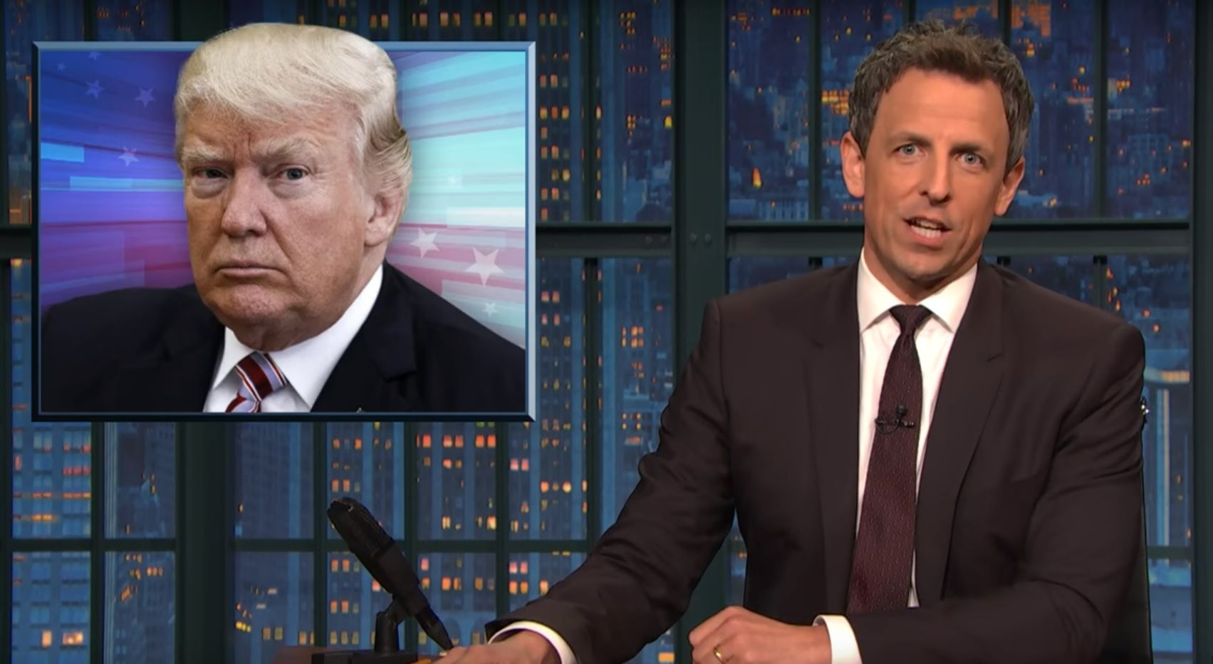 Seth Meyers: Trump warned us about special prosecutor
