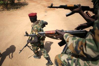 SPLA soldiers