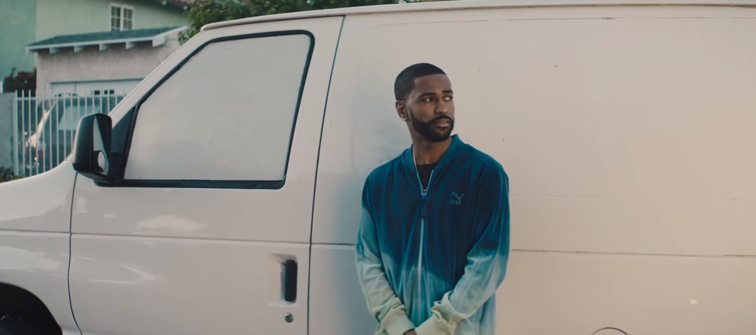 "Big Sean in ""Light"" video"