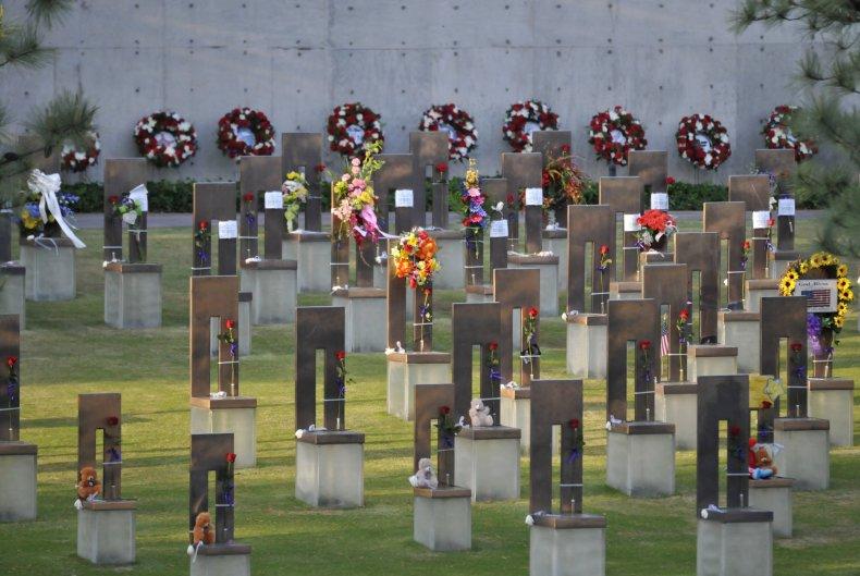 5-19-17 Oklahoma City bombing Field of Empty Chairs
