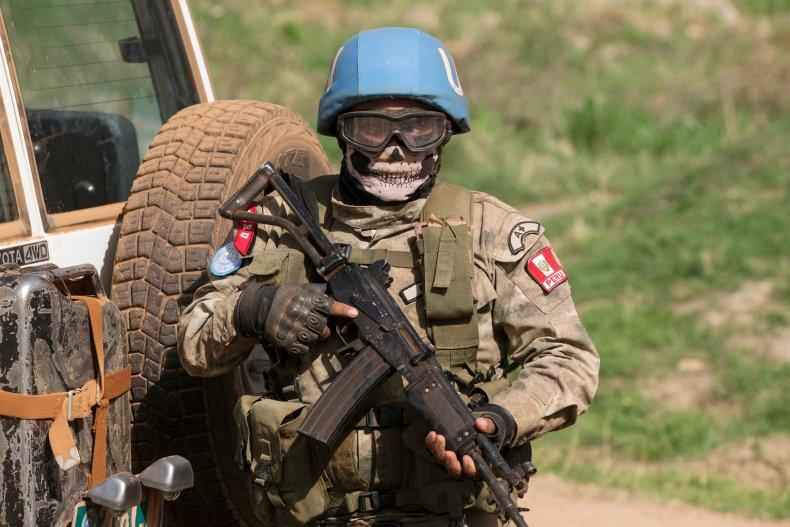 U.N. peacekeeper CAR