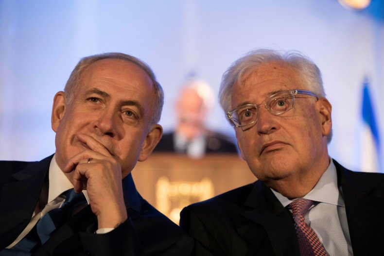David Friedman with Netanyahu